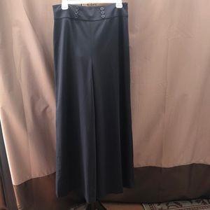 Loft Wide Leg Sailor Style Pants